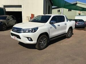 2016 Toyota Hilux GUN126R SR5 (4x4) White 6 Speed Automatic Dual Cab Utility Holtze Litchfield Area Preview