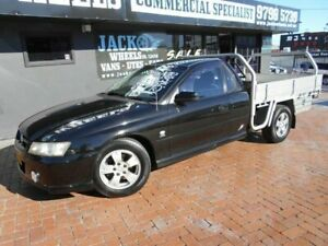 2004 Holden Commodore VZ One Tonner S Black 4 Speed Automatic Cab Chassis Croydon Burwood Area Preview
