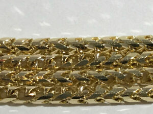 10K GOLD FRANCO LINK CHAIN ON SALE NOW 55% OFF!!!!!