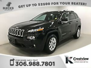 2015 Jeep Cherokee North 4x4 V6 | Heated Seats and Steering Whee