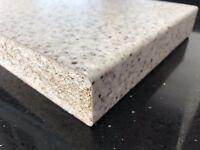Grey white black speckle Laminate Kitchen Worktop 3 mtr long Brand New