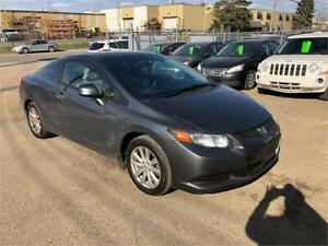 2012 Honda Civic Cpe EX ( free warranty)