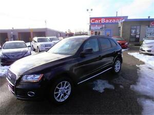2013 Audi Q5 2.0L 4 CYL ALL WHEEL DRIVE LEATHER EASY CAR FINANCE