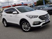 2016 Hyundai Santa Fe DM3 MY16 Elite White 6 Speed Sports Automatic Wagon Morley Bayswater Area Preview