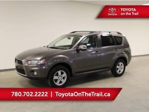2013 Mitsubishi Outlander LS; 7 PASSENGER, LEATHER, AWD, KEYLESS