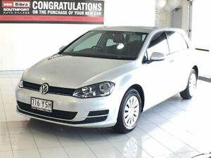 2013 Volkswagen Golf VII MY14 90TSI Silver 6 Speed Manual Hatchback Southport Gold Coast City Preview