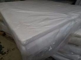 NEW / BAGGED 4ft6 double memory foam mattress,visco elastic matress.