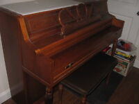 Weber Piano includes bench for sale! - $1250