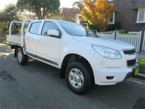 2016 Holden Colorado RG MY16 LS (4x2) White 6 Speed Automatic Crew Cab Chassis Croydon Burwood Area Preview