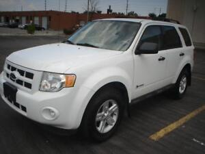 2009 Ford Escape Hybrid,4wd,auto,gas saver
