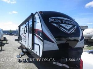 *FAMILY TRAILER FOR SALE*CRUISER FUN FINDER 28QD*QUAD BUNKS*