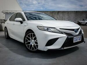 2018 Toyota Camry AXVH71R SL White 6 Speed Constant Variable Sedan Hybrid Canning Vale Canning Area Preview