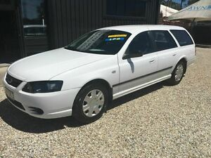 2006 Ford Falcon BF MK11 LPG White 4 Speed Automatic Wagon Biggera Waters Gold Coast City Preview