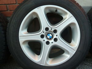 Four 18 inches BMW 2006 X5 Rims & Tires 255 55 18