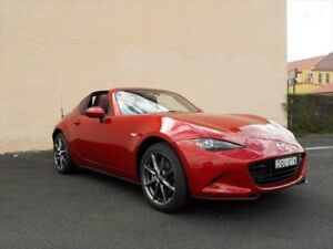 2017 Mazda MX-5 K MY17 RF GT (black Roof) Soul Red 6 Speed Manual Convertible