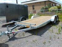 2016  HOT DIPPED 82 X 18 FT. GALVANIZED AUTO HAULER  IN STOCK