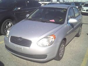 2007 ACCENT GL SEDAN  LOADED  5 SPEED  ONE OWNER-NO ACCIDENTS