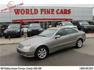 2004 Mercedes-Benz CLK-Class CLK320 Accident Free Certified