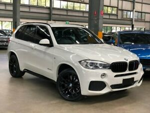 2015 BMW X5 F15 xDrive30d Wagon 5dr Spts Auto 8sp 4x4 3.0DT White Sports Automatic Wagon