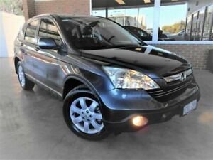 2007 Honda CR-V MY07 (4x4) Luxury Grey 5 Speed Automatic Wagon St James Victoria Park Area Preview