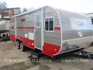 *2018 RIVERSIDE RV RETRO 199FKS* STUNNING RETRO LOOK TRAILER*