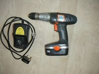 Challenge Extreme 18 Volt Cordless rechargeable Hammer Drill