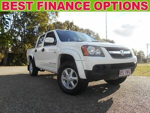 2011 Holden Colorado RC MY11 LX Crew Cab White 5 Speed Manual Cab Chassis Underwood Logan Area Preview