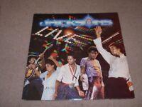 The Jacksons Live! Double Album on vinyl
