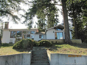 100+ ft of waterfront with Sandy Beach & view of Copper Island