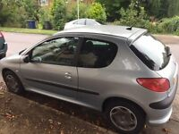 Peugeot 206 1.4 - 2004 - Low Mileage - Reliable - 4 months MOT & Tax - Regular Service