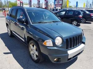 2007 Jeep Compass Limited, AUTO, 4X4, MAGS, A/C, 2.4L