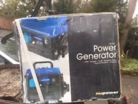 Nupower NP651 650W Generator (New. boxed)