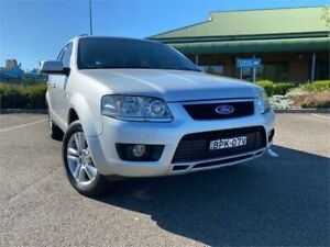 2010 Ford Territory SY MkII TS AWD Silver 6 Speed Sports Automatic Wagon