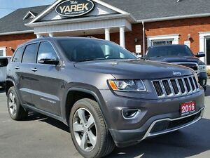 2016 Jeep Grand Cherokee Limited 4x4, Leather Heated Seats/Wheel