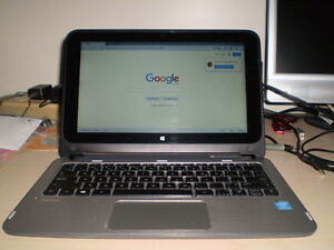 "HP 11"" TOUCH SCREEN LAPTOP, INTEL QUAD CORE, 8GB RAM, HDMI, WEBC Kawartha Lakes Peterborough Area image 1"