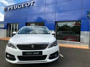 2019 Peugeot 308 T9 MY20 Allure Touring Bianca White 6 Speed Sports Automatic Wagon Nambour Maroochydore Area Preview