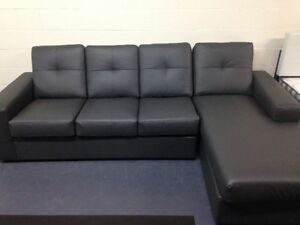 CANADIAN MADE AIR LEATHER SECTIONAL $799 Kitchener / Waterloo Kitchener Area image 1