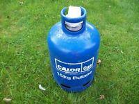 Empty Calor Gas gas bottle