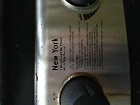 Used New York 3 ring Gas BBQ