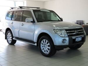 2007 Mitsubishi Pajero NS Exceed LWB (4x4) Silver 5 Speed Auto Sports Mode Wagon Morley Bayswater Area Preview