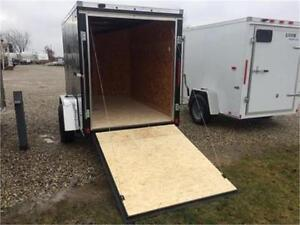 Brand New 5x8 Enclosed LOOK Utility trailer London Ontario image 3