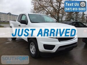 2018 Chevrolet Colorado Work Truck Extended Cab Long Box