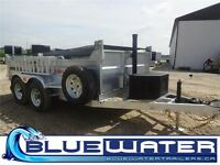 2016 K-Trail ALL GALVANIZED Dump Trailers!!!! CALL TODAY!!!