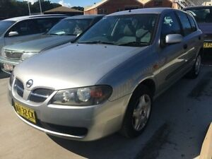 2005 Nissan Pulsar N16 MY03 ST Silver 5 Speed Manual Hatchback Georgetown Newcastle Area Preview