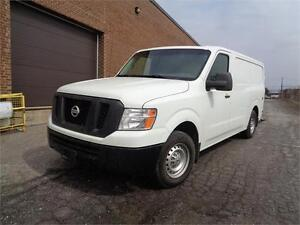 2013 Nissan NV1500S, FULLY EQUIPPED WITH A REAR RAMP