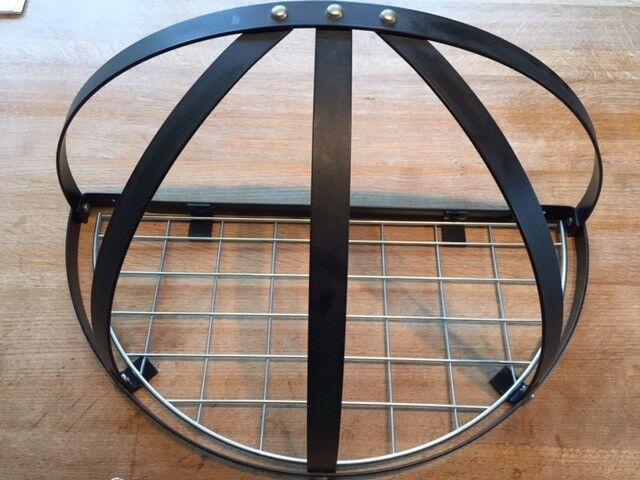 Semi-circular hanging Pot Rack from John Lewis, new