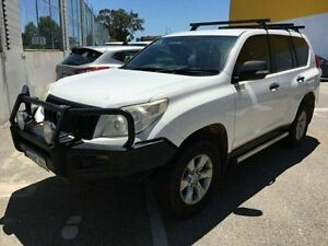 2010 Toyota Landcruiser Prado KDJ150R GX White 6 Speed Manual Wagon Edgewater Joondalup Area Preview