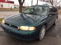 1997 Subaru Legacy Wagon, AWD, 5 SPEED MANUAL, Sell AS IS
