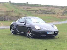 09 REG PORSCHE CAYMAN S MANUAL, ONLY 35,900 MILES, SERVICE HISTORY, CHEAPEST ONE