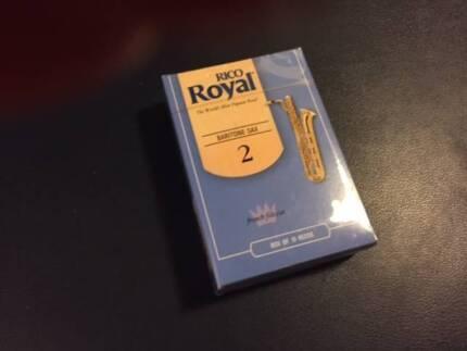 Baritone Sax reeds Royal Rico pkt.10